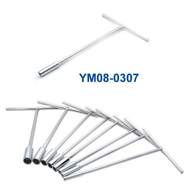 YM08-0307 5/16インチ Tハンドルレンチ