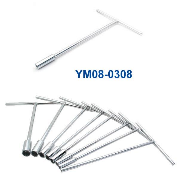 YM08-0308 3/8インチ Tハンドルレンチ