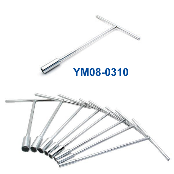 YM08-0310 1/2インチ Tハンドルレンチ