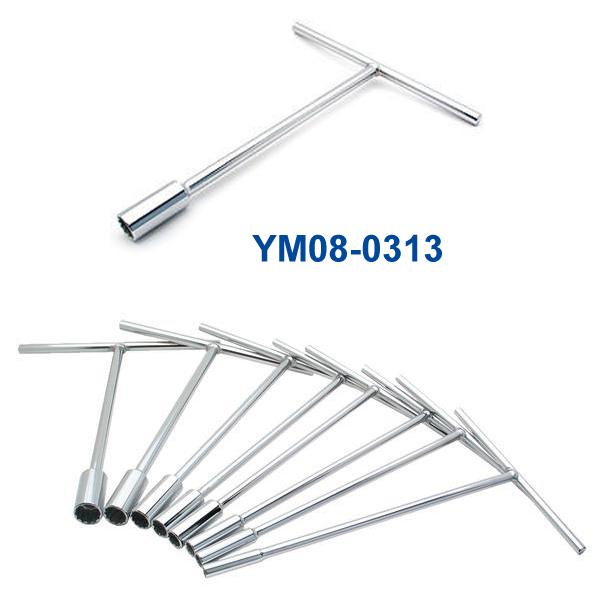 YM08-0313 11/16インチ Tハンドルレンチ