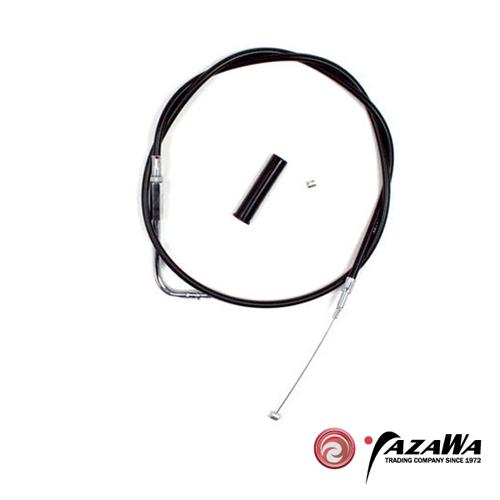 YM06-0139 ブラックビニール アイドルケーブル 77cm(STD)